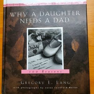 Father's Day Book Why A Daughter Needs A Dad